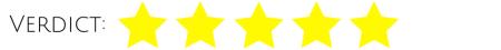 Verdict 5 stars