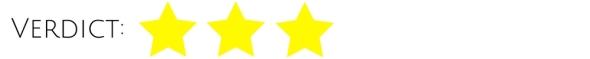 Verdict 3 stars